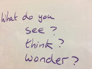 Using 'Guernica' to Promote Visible Thinking andDiscussion
